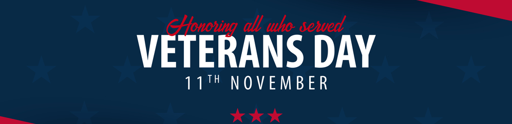 Veterans Day Federal Holiday 2019