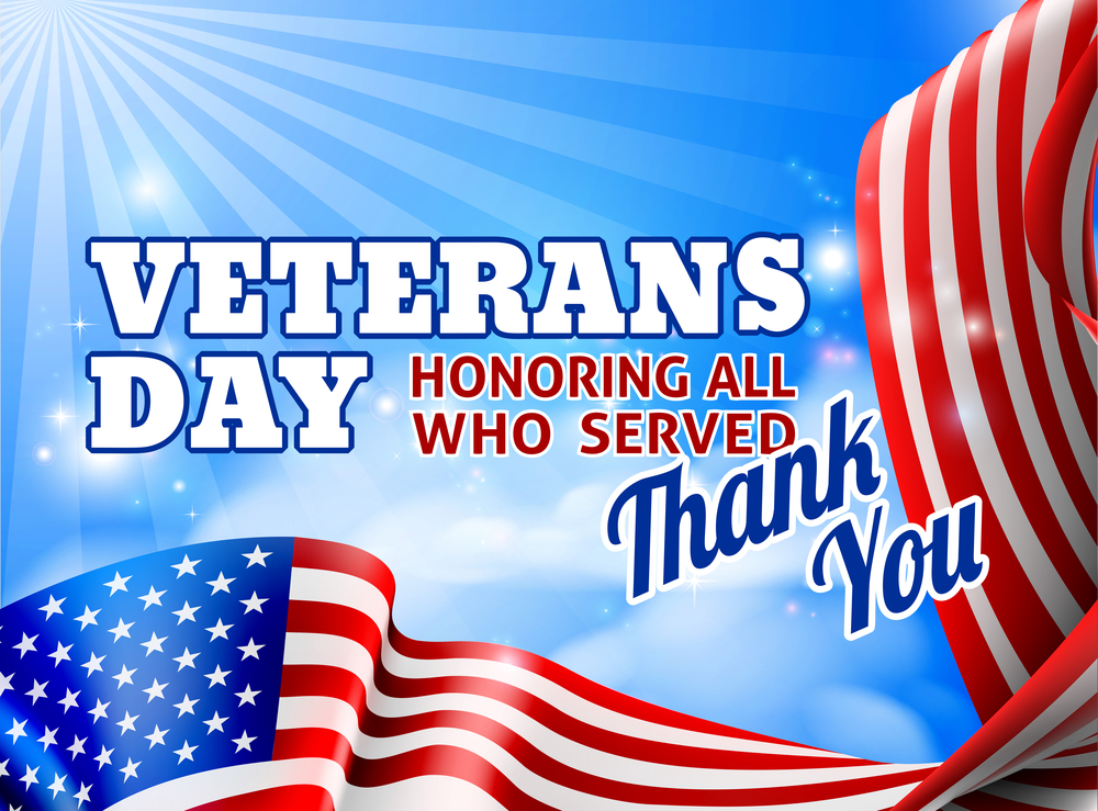 Veterans Day Observed 2018