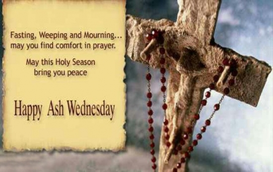 Happy Ash Wednesday Quotes images