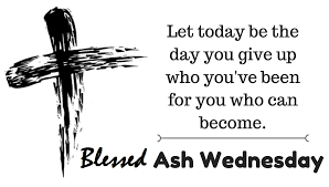 ash Wednesday quotes images 2020