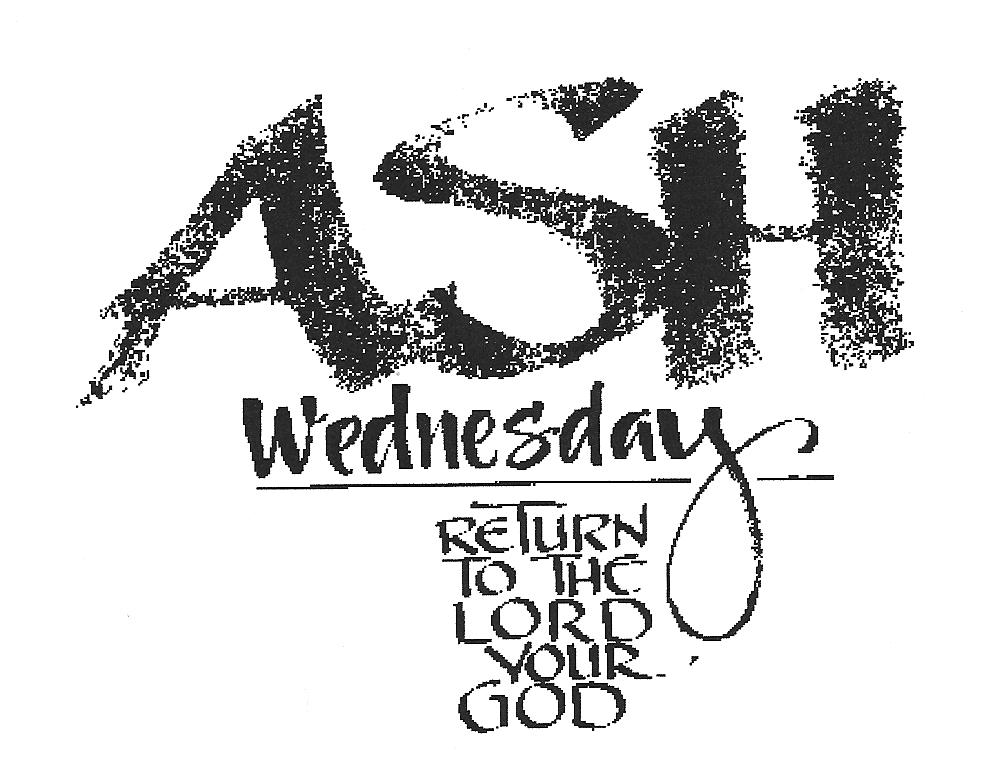 Ash Wednesday Clipart Free 2020
