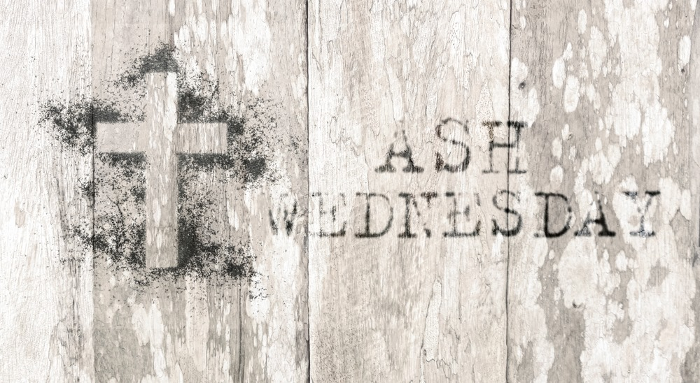 Ash Wednesday PowerPoint Background 2020