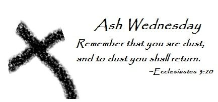 Ash Wednesday Quotes Bible