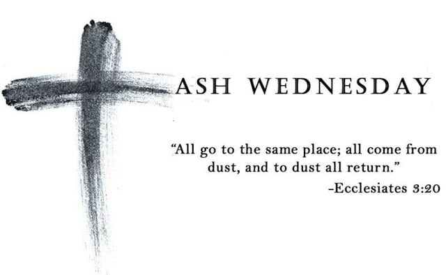 Ash Wednesday Quotes and Sayings 2020
