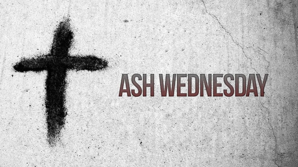 Ash Wednesday background 2020
