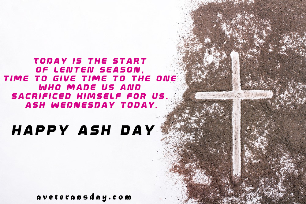Ash Wednesday Blessing Saying